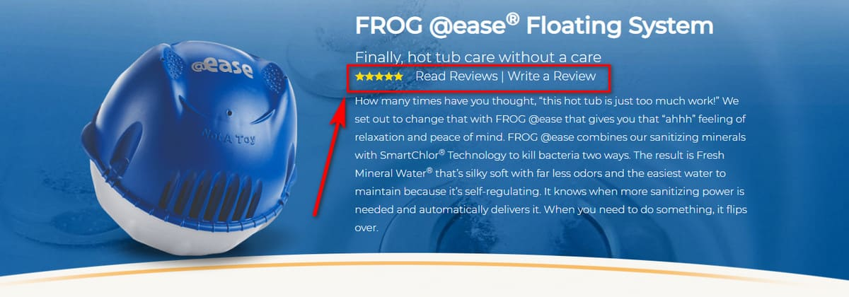 Frog Ease 174 Floating System